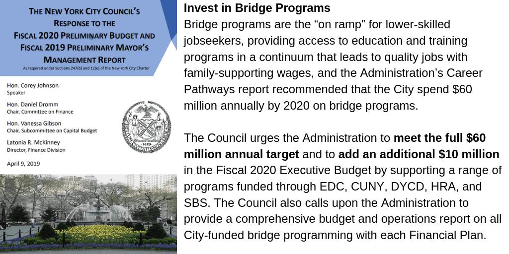 Advocacy Alert: #InvestInSkillsNYC May 6 Rally & Press