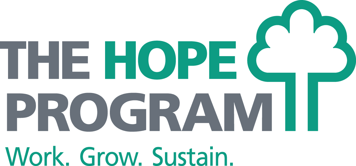 The HOPE Program and Sustainable South Bronx logo