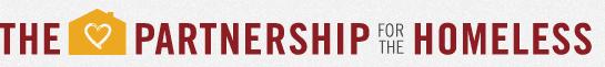 The Partnership for the Homeless logo